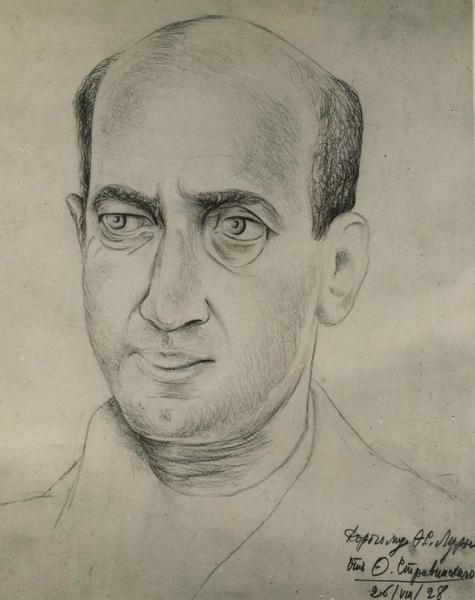 Arthur Lourié by Theodore Stravinsky