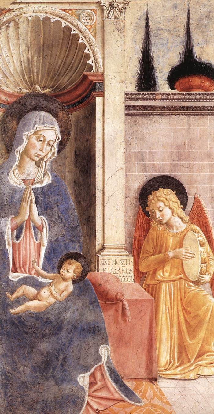Benozzo Gozzoli, Madonna and Child