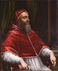 Pope Clement VII, by Sebastiano del Piombo