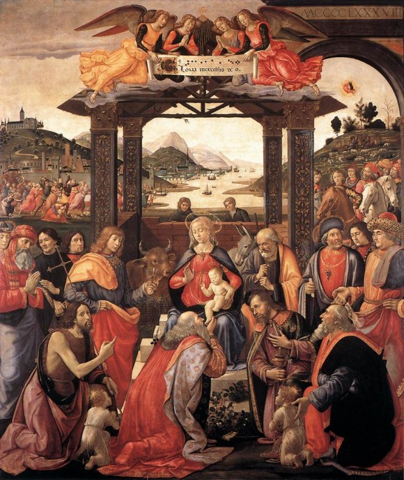 Ghirlandaio, Adoration of the Magi