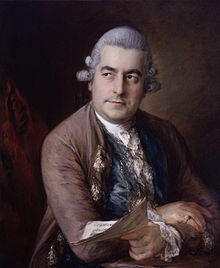Johann Christian Bach, by Thomas Gainsborough