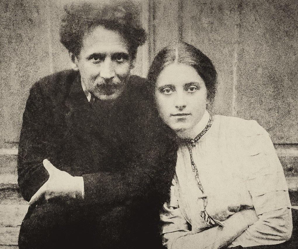 Mikalojus Čiurlionis and Sofija Kymantaitė