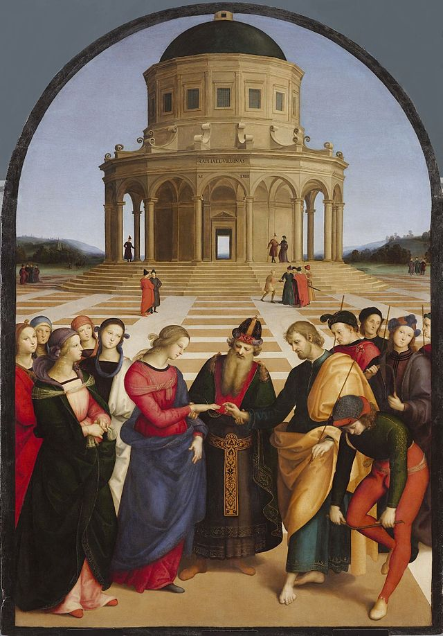 Rafael The Marriage of the Virgin (Lo Sposalizio)
