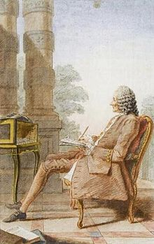 Jean-Philippe Rameau, by Carmontelle