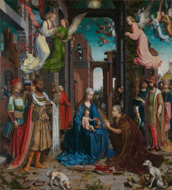 The Adoration of the Kings, Jan Gossaert