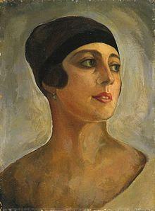Vera de Bosset, by Sergei Sudeikin